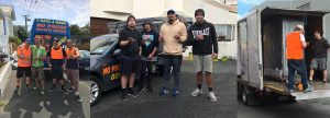 Office Movers Auckland Peter Wolfkamp, Jerome Kaino SpaPool Movers