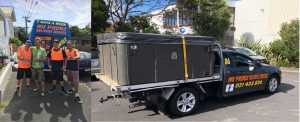 spa pool moving auckland