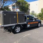 spa pool moving Auckland ute