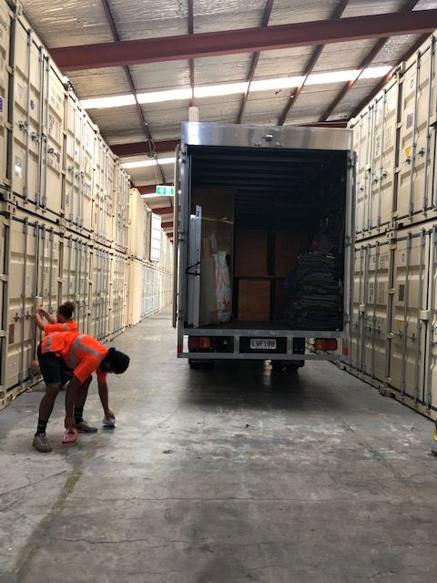 warehouse and commercial movers